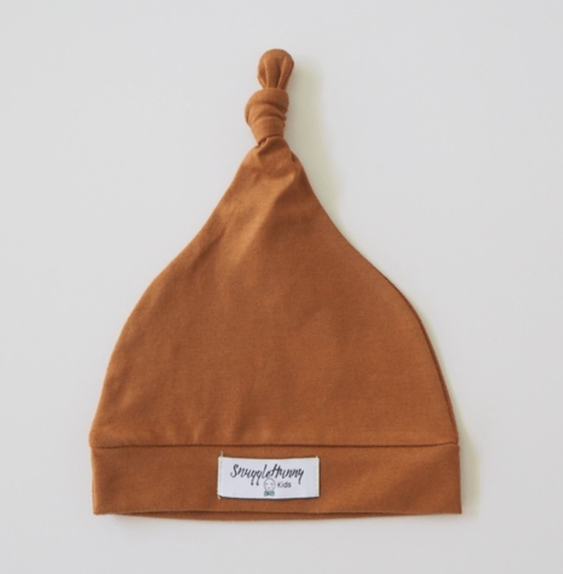 Baby Knotted Beanie - Bronze - Snuggle Hunny Kids