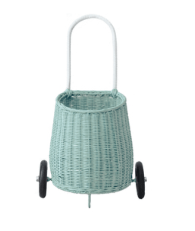 Kids Luggy basket- Mint - Olli Ella