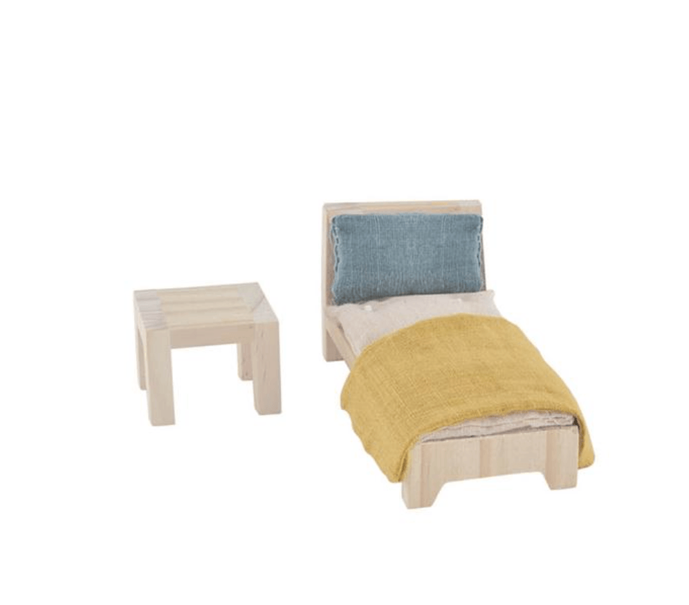 Holdie House Doll Furniture -  Single Bed set - Olli Ella