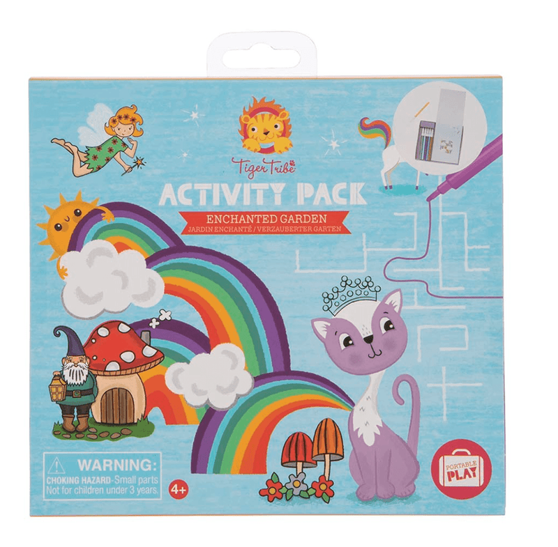 Activity Set- Enchanted Garden - Tiger Tribe
