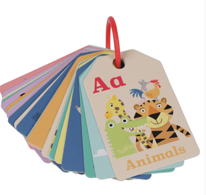 Flash Cards- Animal ABC - Tiger Tribe