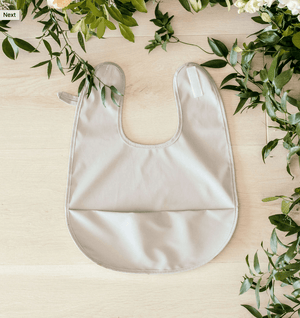 Snuggle Bib - Waterproof - Dove - Snuggle Hunny Kids
