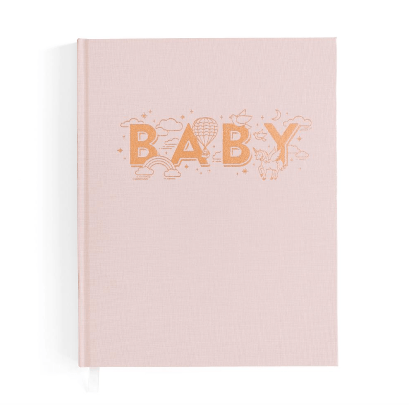 Baby Journal - Natural (Girls) - Fox & Fallow
