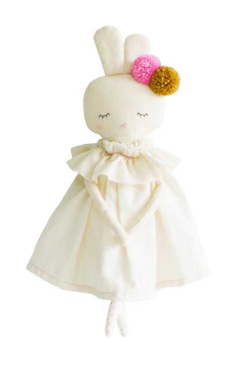 Isabelle Bunny - Ivory Linen - Alimrose