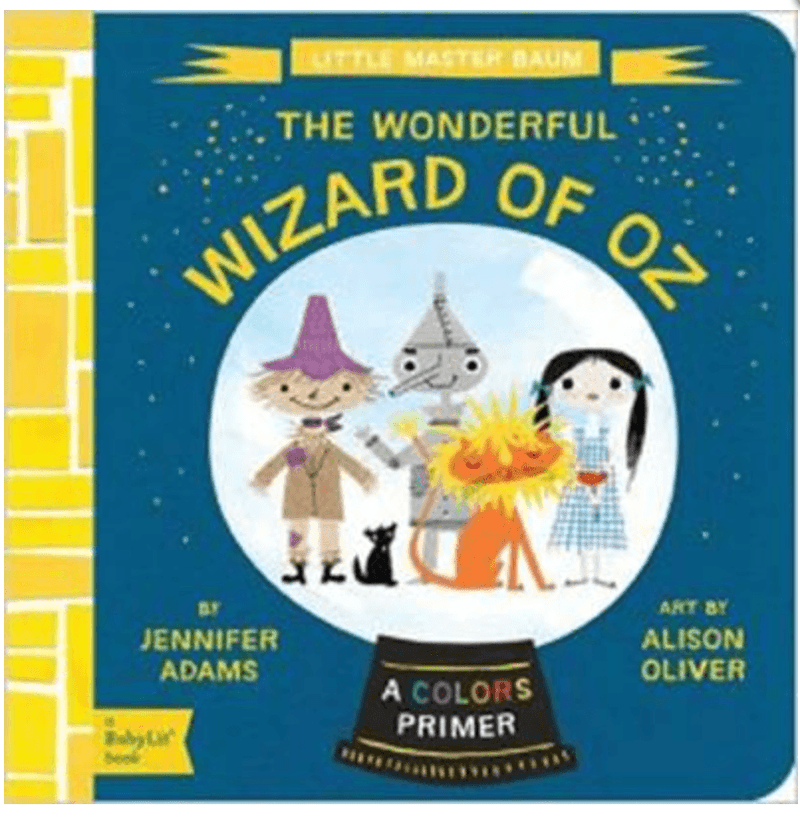 Kids Book- The wonderful wizard of OZ - Colours