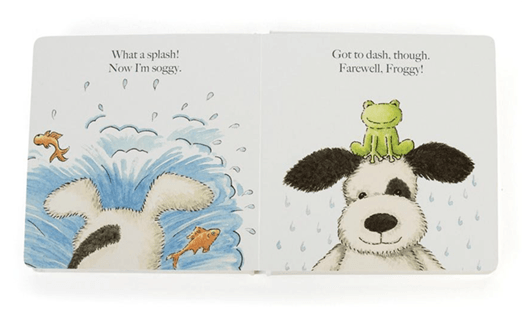 Puppy Makes Mischief - Kids Book - Jellycat