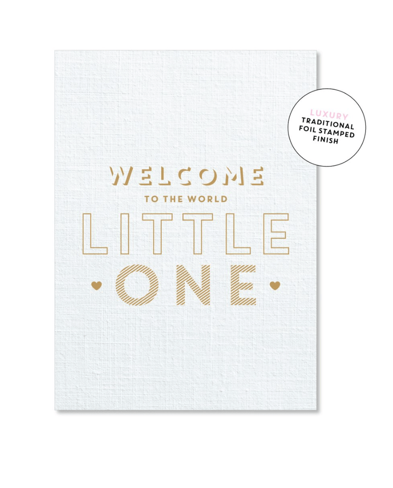 Card - Welcome Little One - Just Smitten
