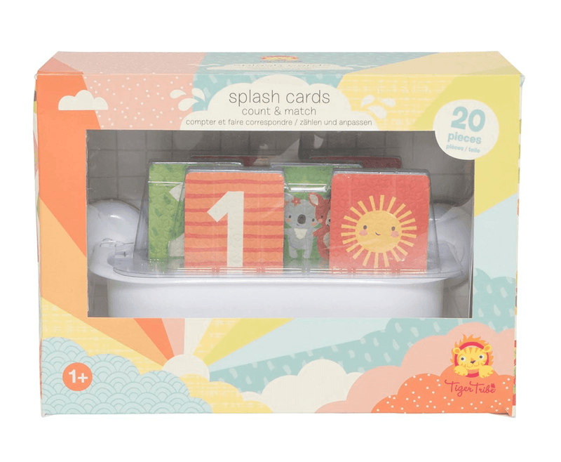 Splash Cards Bath Toys- Count and Match - Tiger Tribe