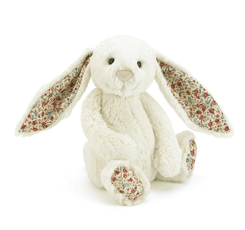 Blossom Bashful Cream Bunny Medium - Jellycat