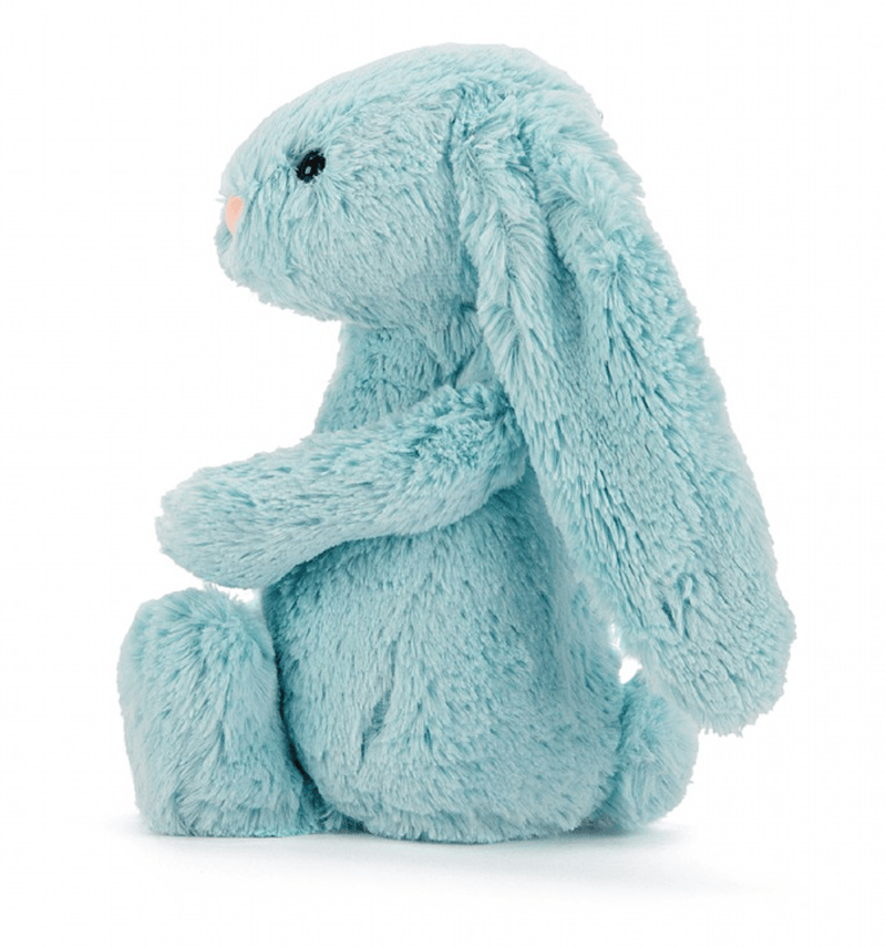 Bashful Aqua Bunny Medium - Jellycat