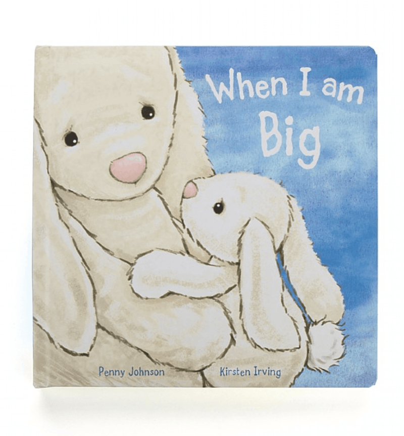 When I am big Bunny Book - Kids Book - Jellycat
