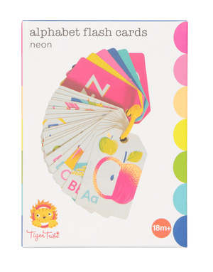 Flash Cards- Alphabet Neon - Tiger Tribe