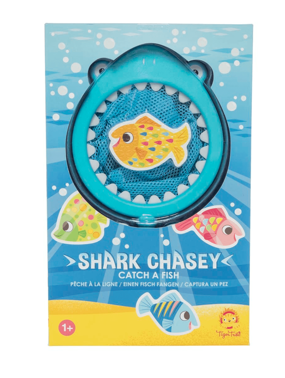 Bath Toys- Shark Chasey - Tiger Tribe