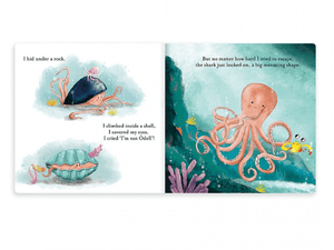 The fearless octopus - Kids Book - Jellycat