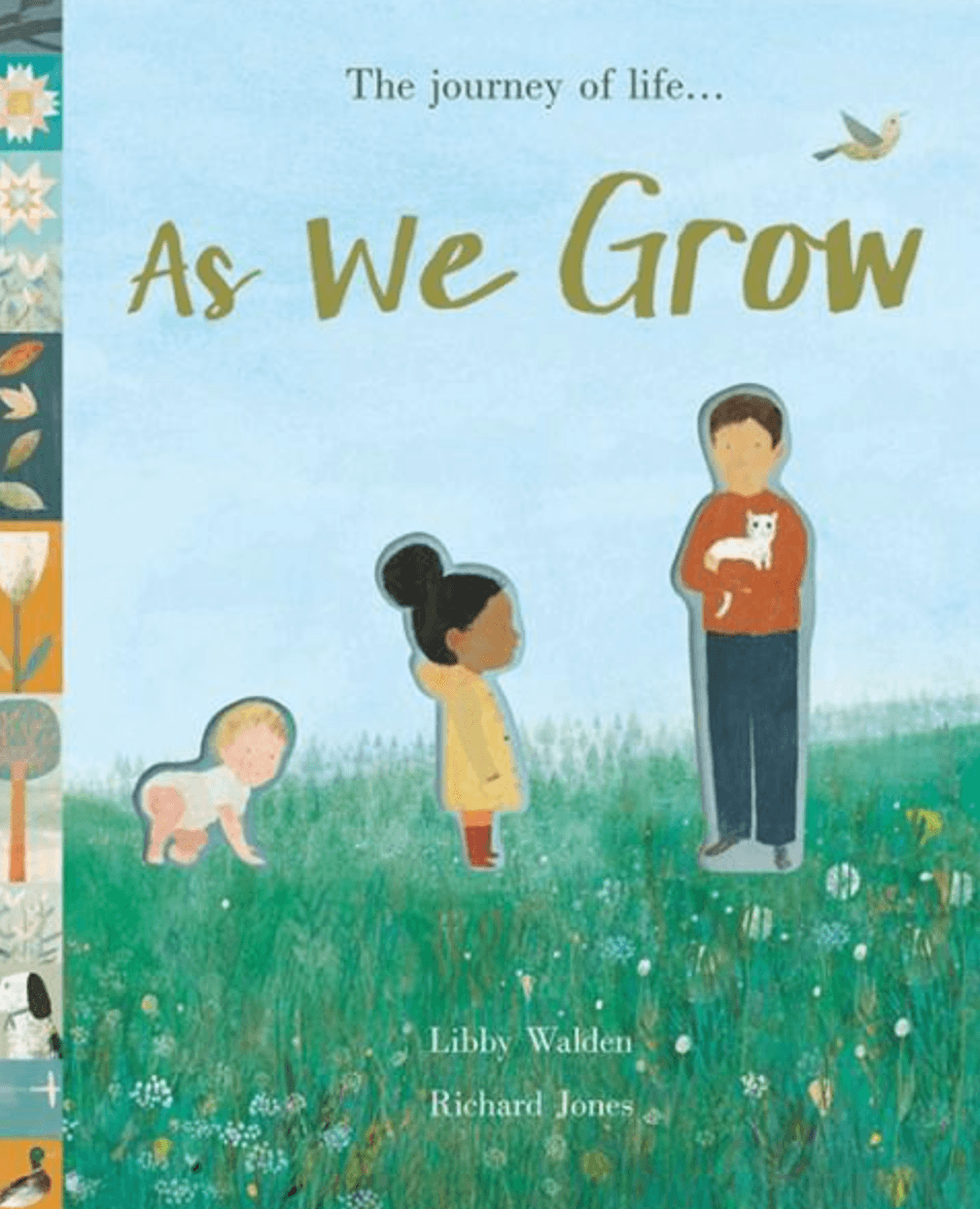 As we grow - Kids Book