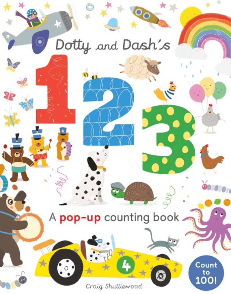 Dotty and Dash's 123 - Kids Book