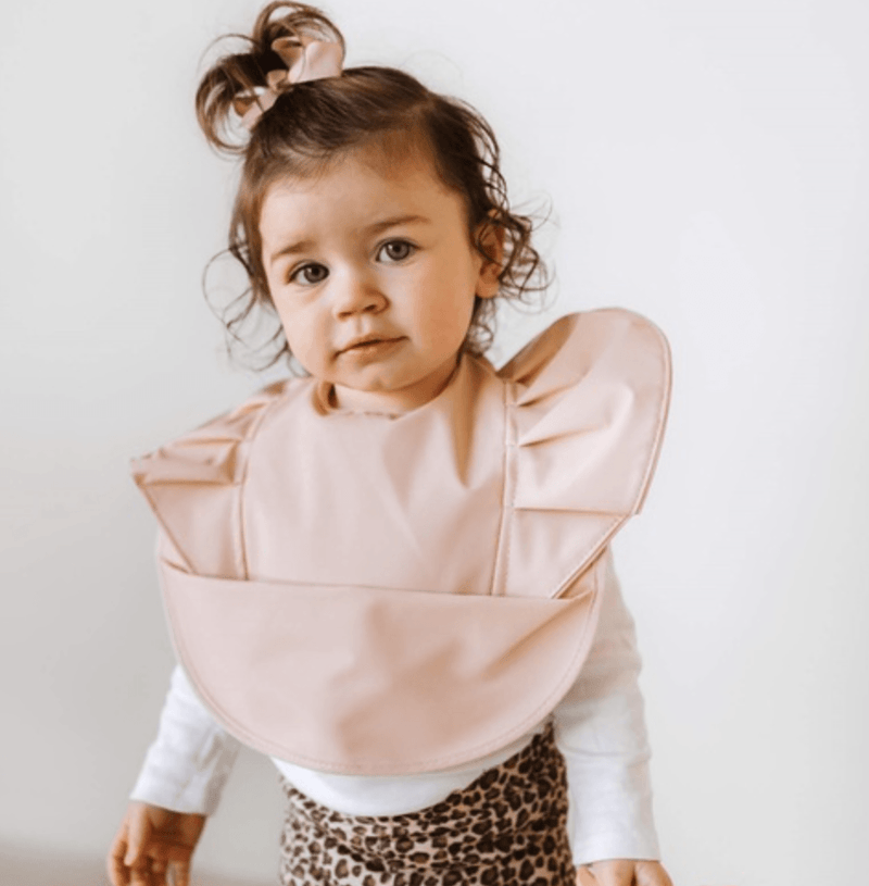 Snuggle Bib - Waterproof - Nude - Snuggle Hunny Kids