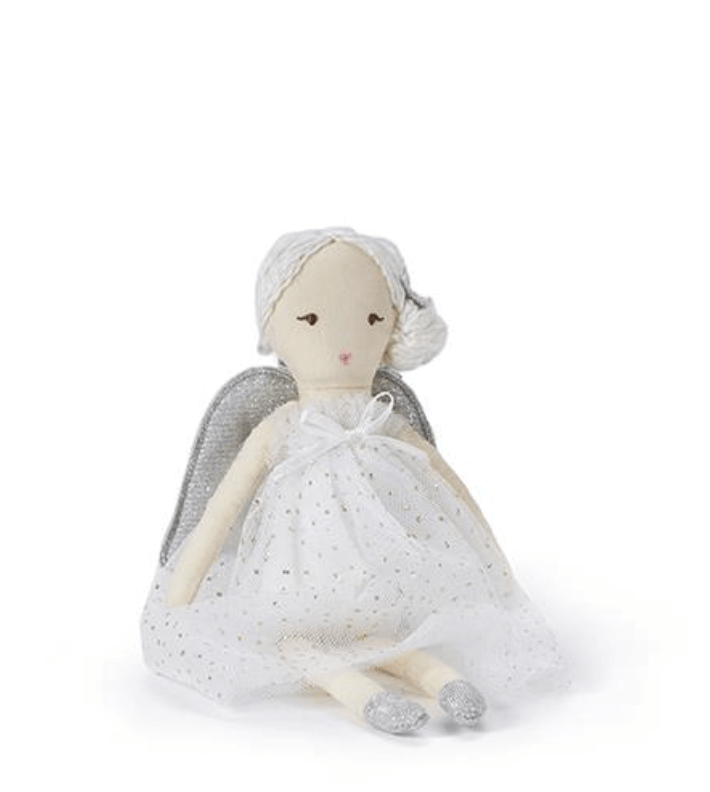 Mini Isabella Angel White Doll -  Nana Huchy