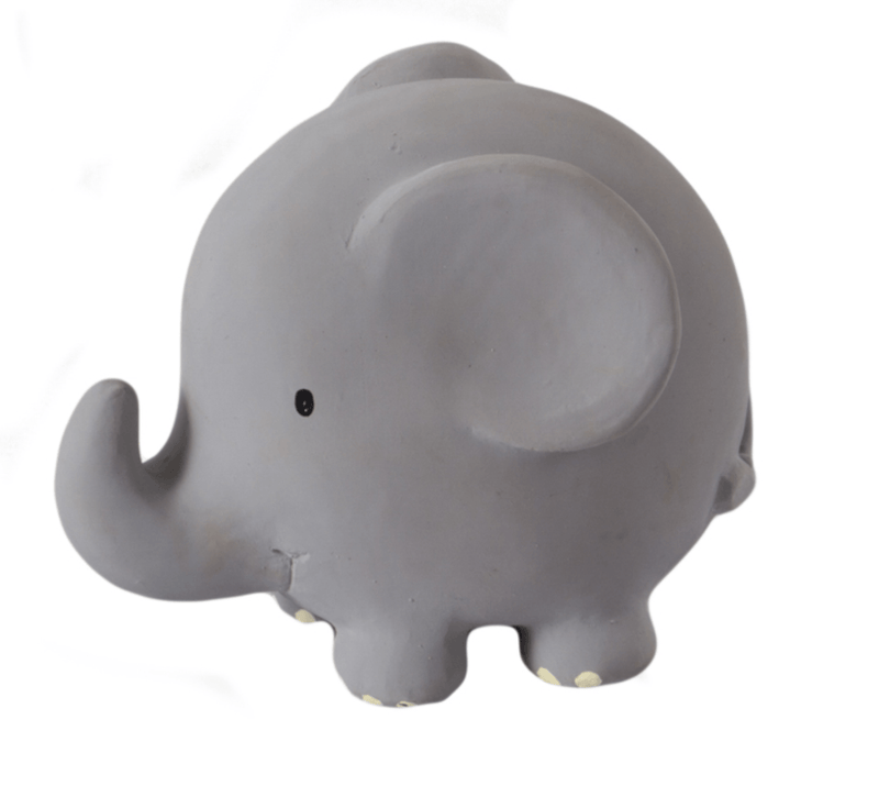Elephant Rubber Zoo Animal Teether - Tikiri