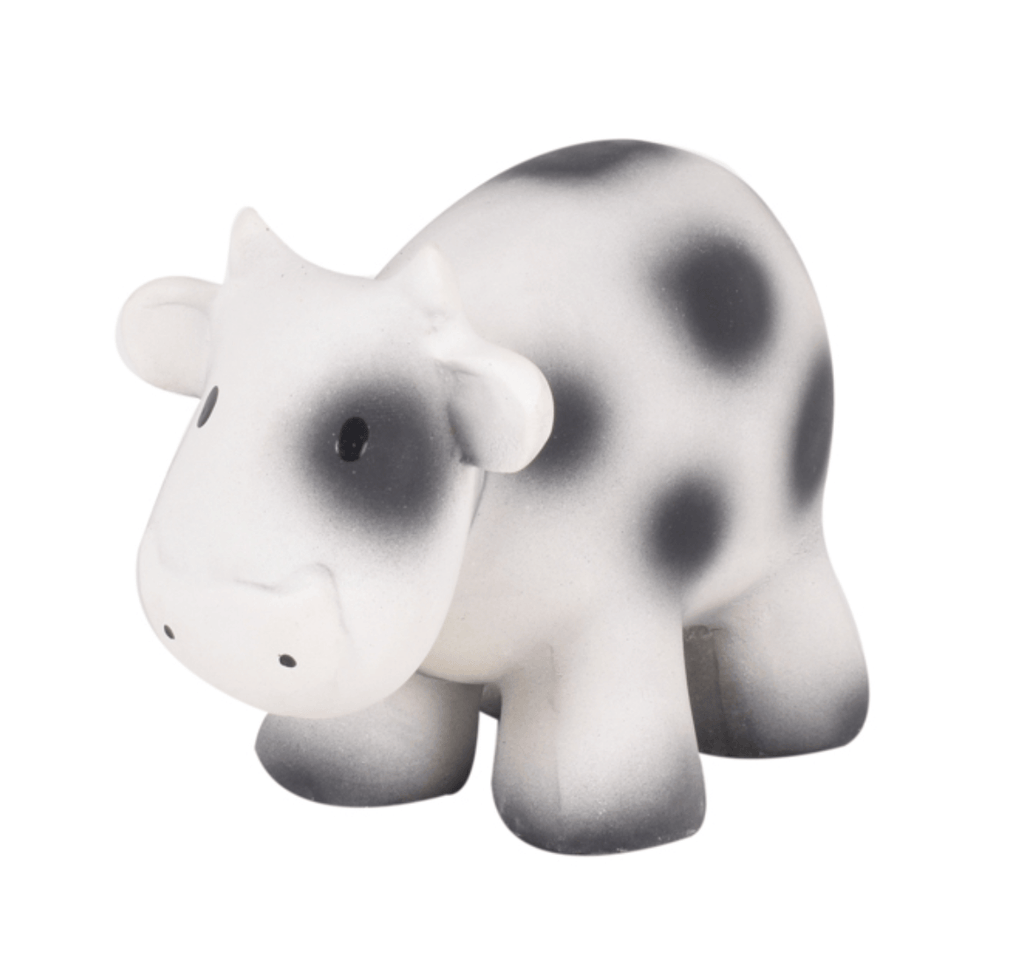 Cow Rubber Farm Animal Teether - Tikiri