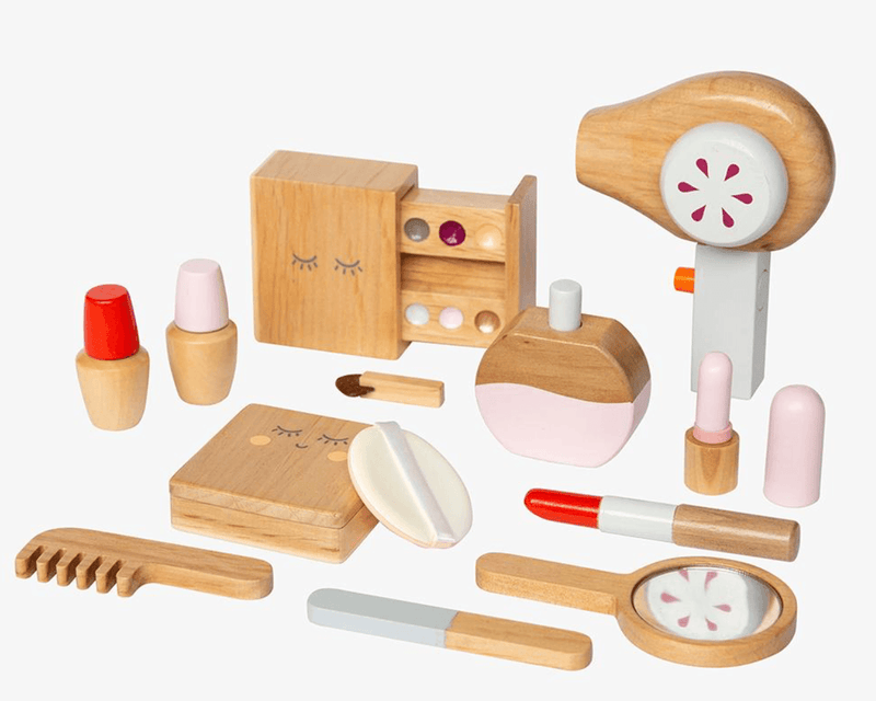 Wooden Beauty Kit - Make me Iconic