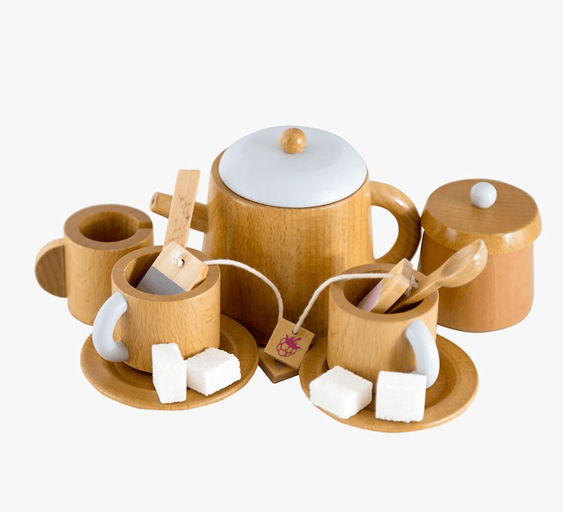 Wooden Tea set - Make me Iconic