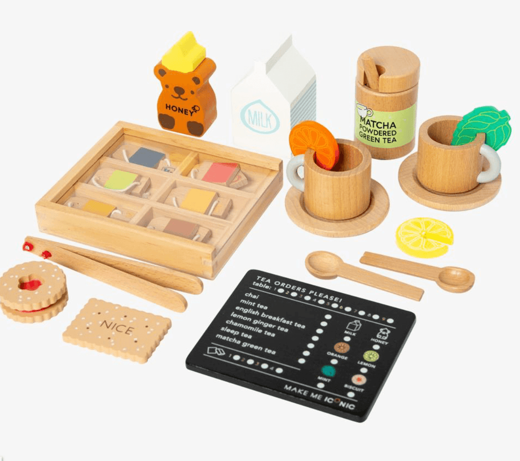 Wooden Tea set- Extension Kit - Make me Iconic