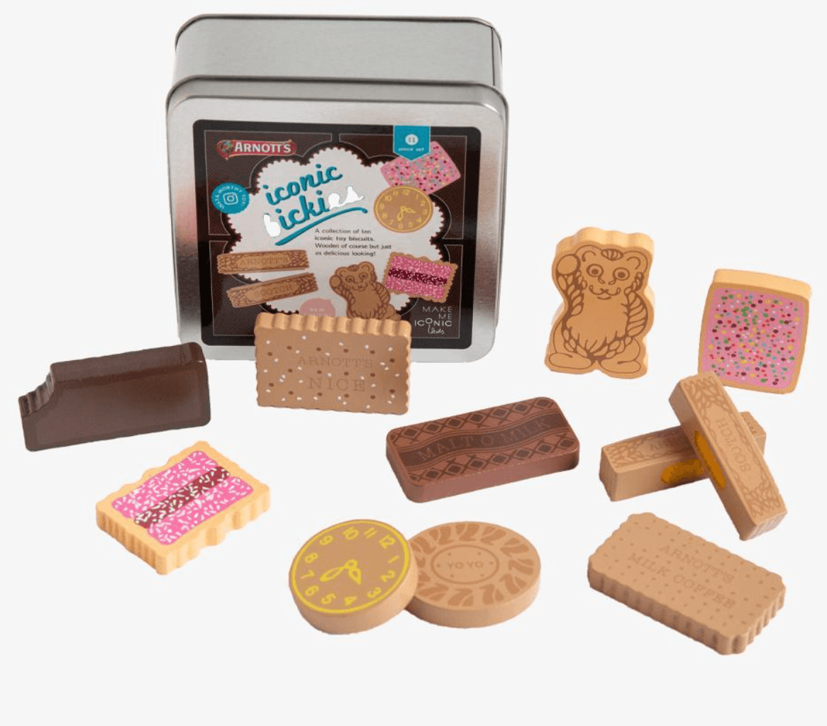 Australian Arnotts Biscuits Wooden - Make me Iconic