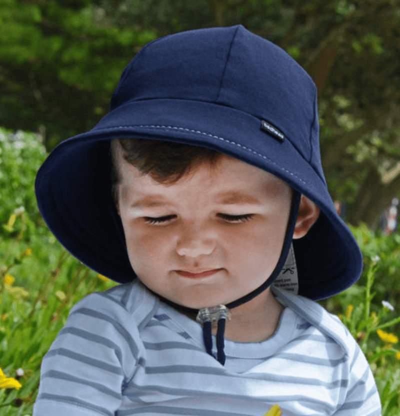 Navy Baby /Toddler Bucket Hat- Bedhead