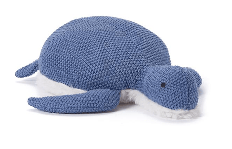 Toby Turtle Toy- Blue- Nana Huchy