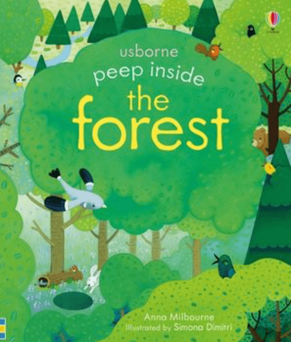 Kids Book- 'Peep inside the Forest'