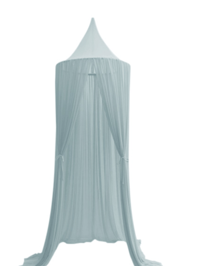 Sheer Canopy - Minty Blue- Spinkie