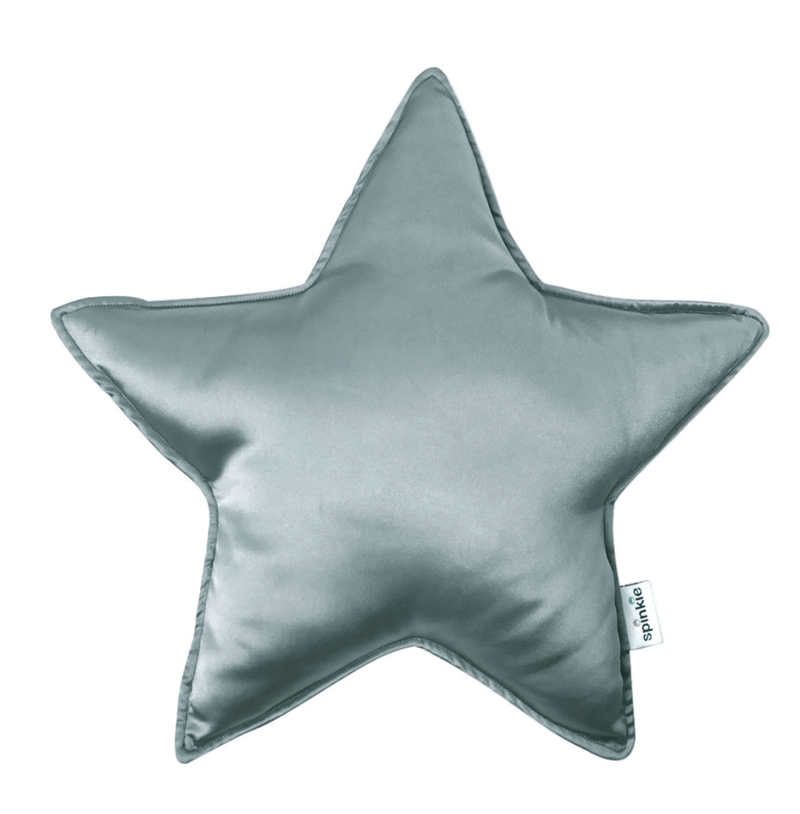 Star Pillow Cushion - Vintage Blue- Spinkie