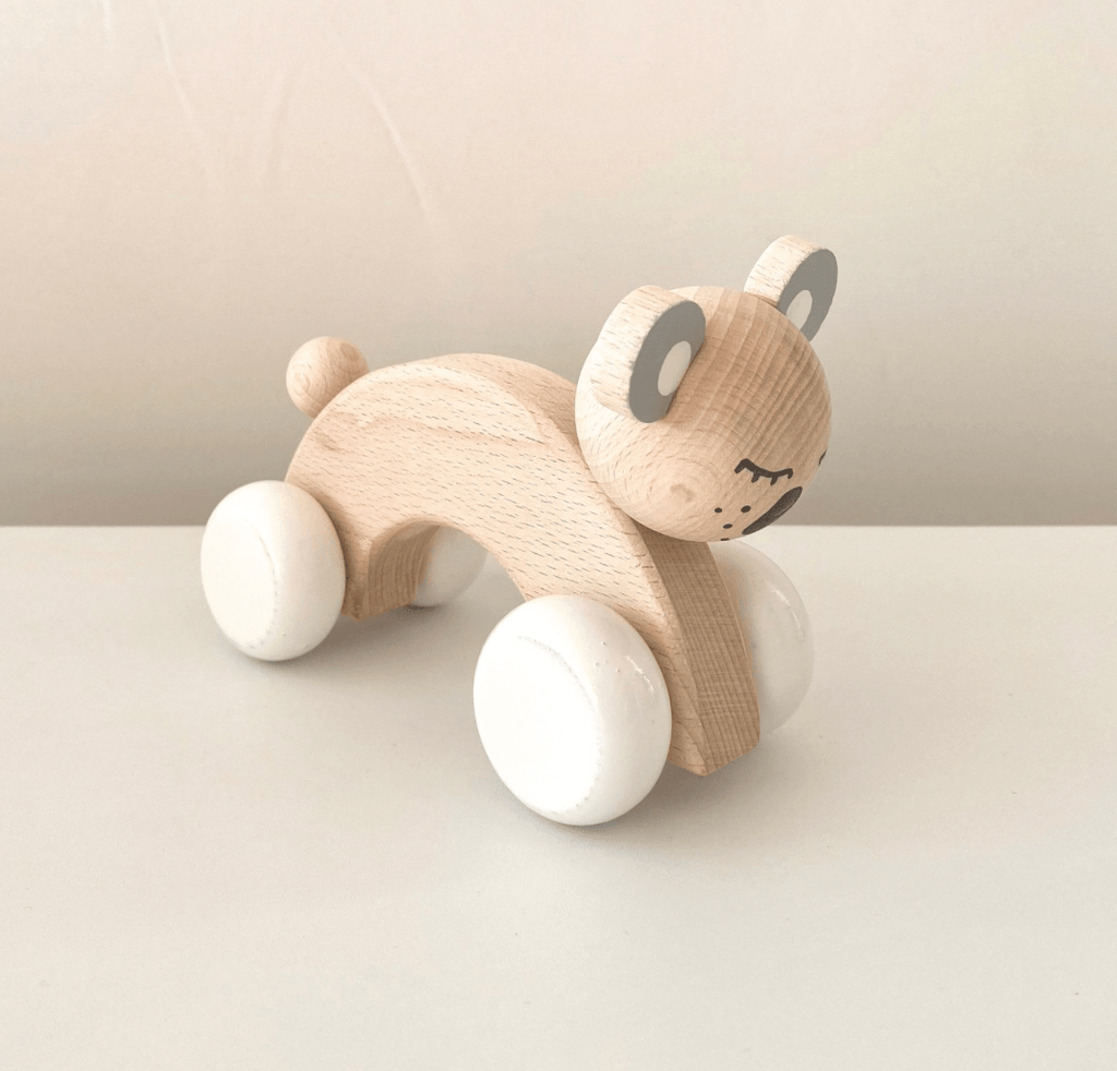 Wooden Push Along Koala - Edith - Happy Go Ducky