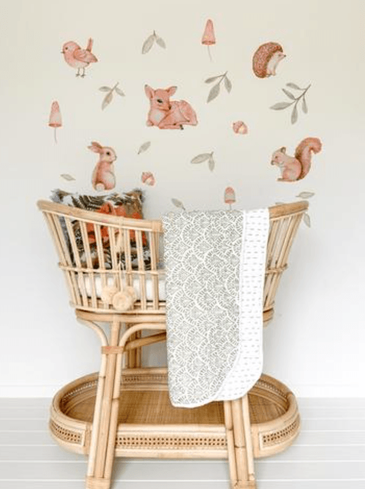 Woodlands - Fabric Wall Stickers - Sailah Lane