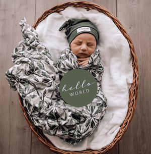 Evergreen Organic Muslin Wrap - Snuggle Hunny Kids