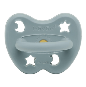 Dummy Pacifier - Round - Winter Sky - 3-36m - Hevea
