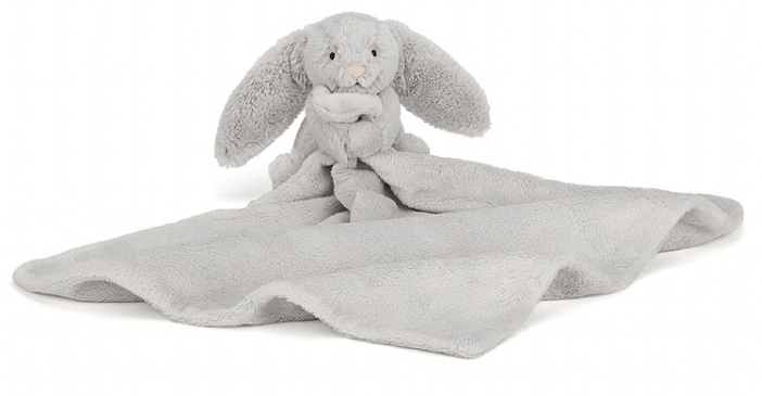 Bashful Silver Bunny Soother - Jellycat
