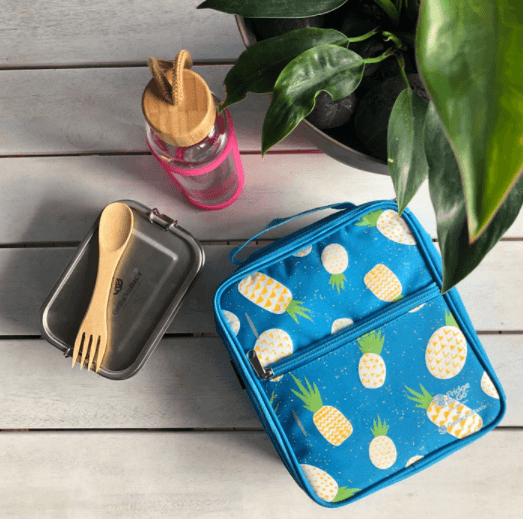 Fridge to Go Lunch Bag - Pineapple - My Family DISCOUNTED