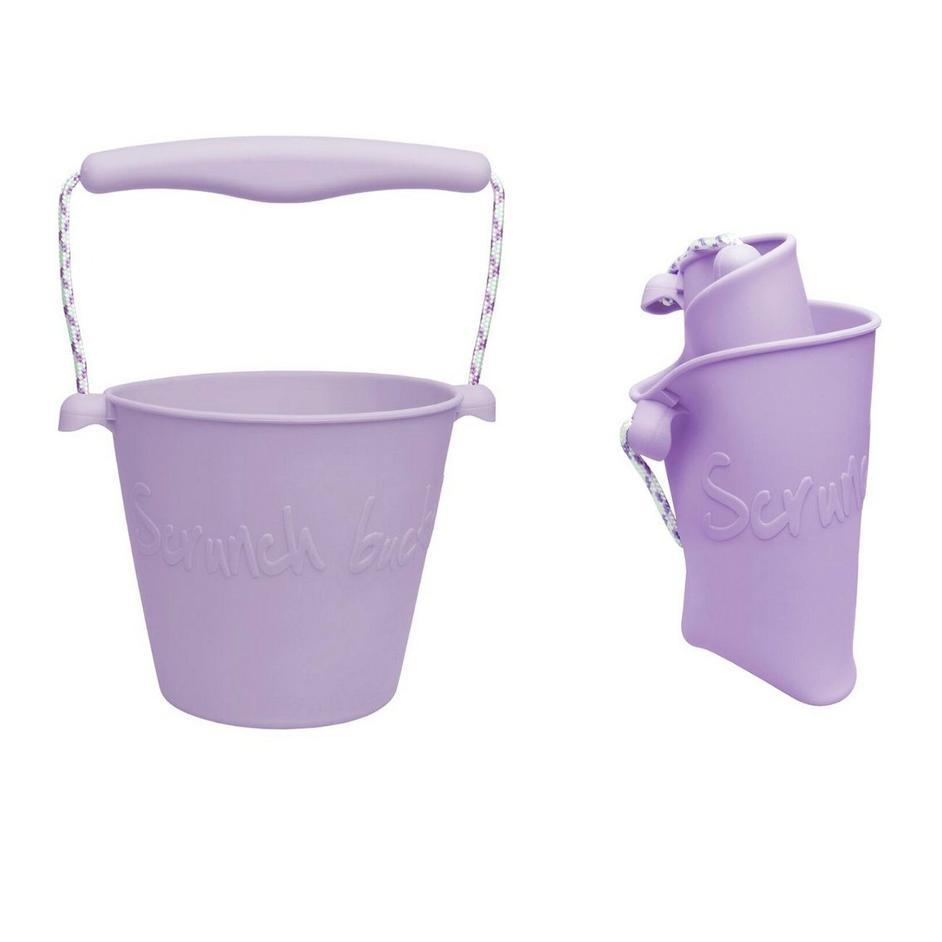 Collapsible Bucket - Lilac Purple - Scrunch