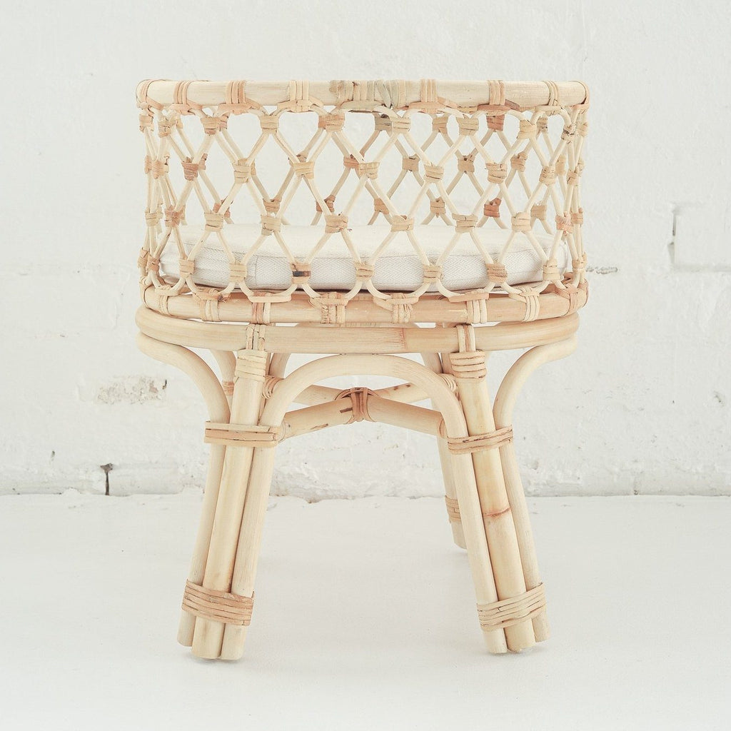 Rattan Doll's Bassinet - Tiny Harlow - PRE-ORDER - Due late October