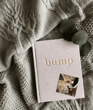 BUMP - A Pregnancy Story - Natural & Gold - Write to me