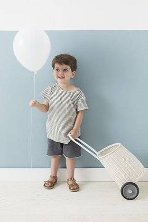 Kids Luggy basket White - Olli Ella