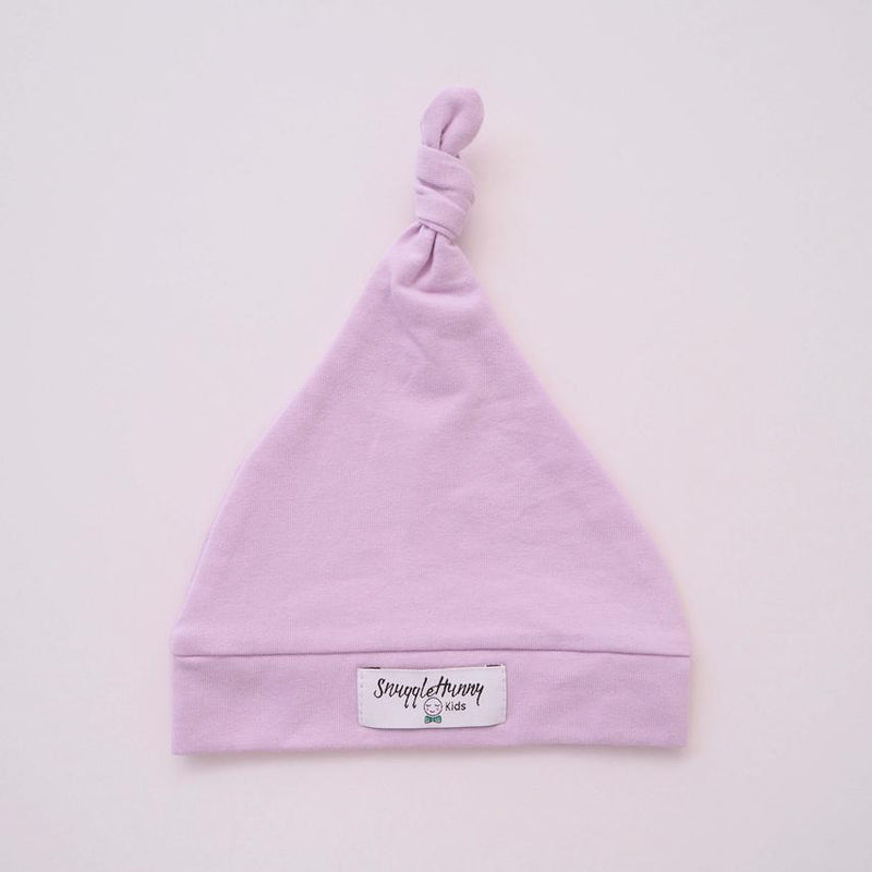 Baby Knotted Beanie - Lilac - Snuggle Hunny Kids