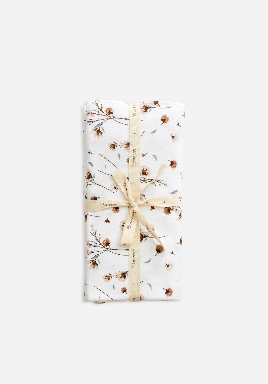 Swaddle - Snow Blossom - Miann & Co