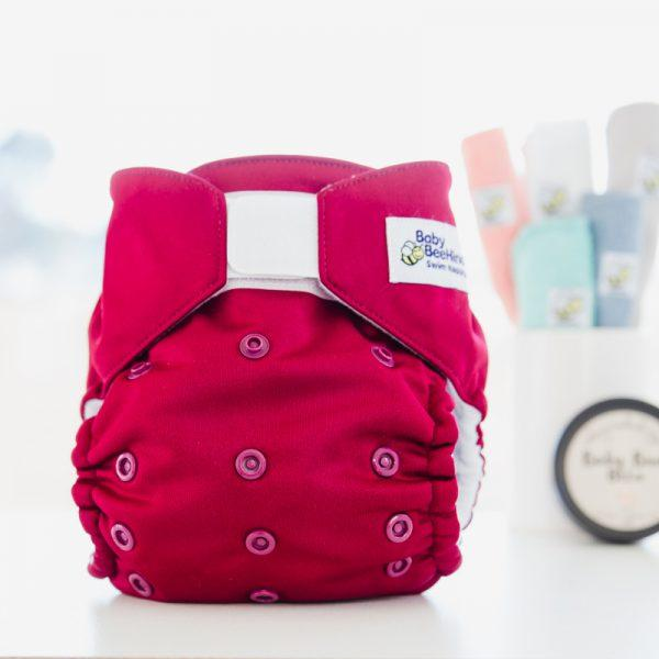 Reusable Swim Nappy -Cherry- Baby Beehinds