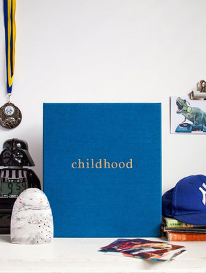 Childhood Journal - Your Memories - Royal Blue - Write to Me