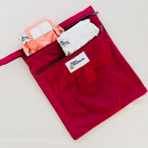 Double Pocket – Wetbag - Flutterby - Baby Beehinds