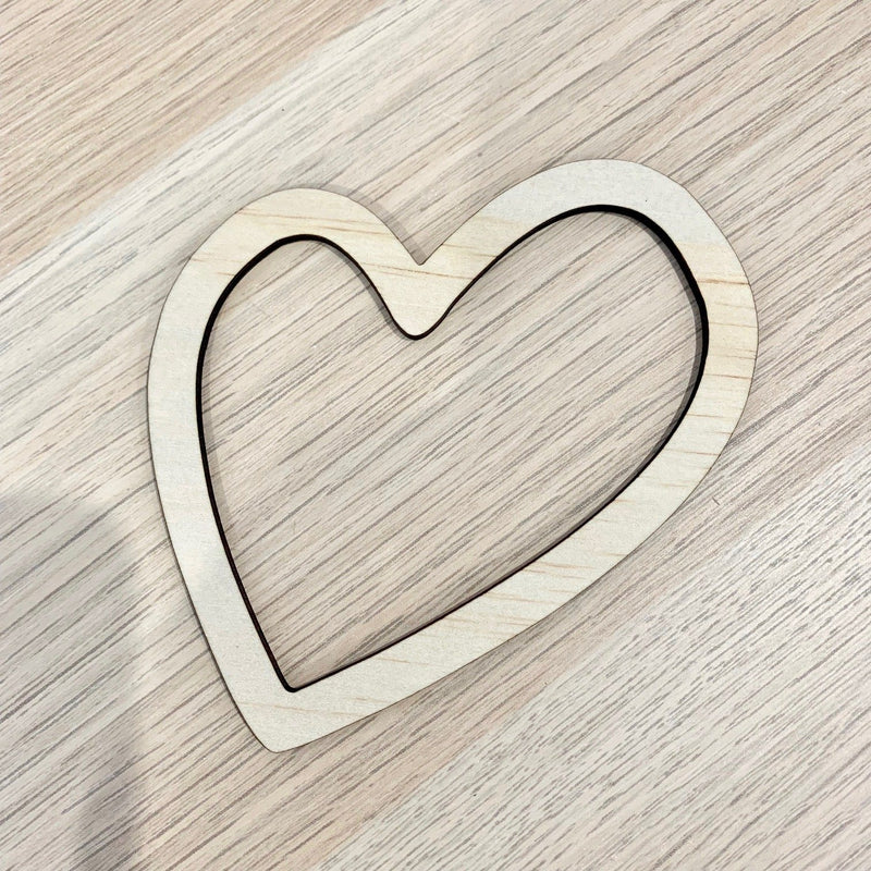 Wall Decor 'Heart' 10cm - Timber Tinkers