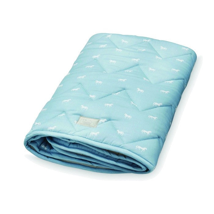Play Mat - Horse Dusty Blue CAM CAM DISCOUNTED